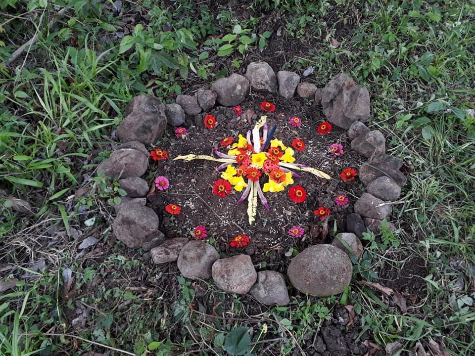 altar for abundance gratitude and harmonia